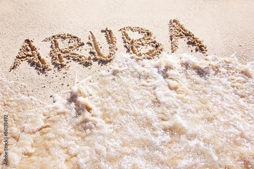 Aruba Canvas Print