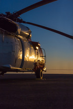 Big Military Helicopter