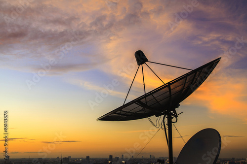 Fotografía  Satellite dish