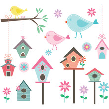 Little Bird,Bird Houses,Birds ...