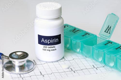 Daily Aspirin Wallpaper Mural