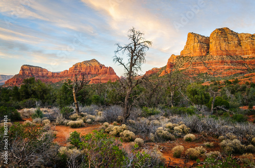 Staande foto Arizona Dramatic View at Sedona, Arizona