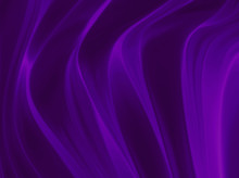 Draped Satin Purple Background Material, Drapery Or Curtains With Creases And Folds, Wrinkled Material, Silk Cloth