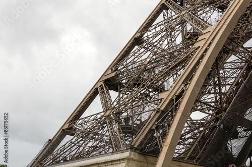 Tour Eiffel détail de l'architecture Poster