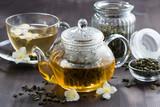 Zielona herbata i jaśmin