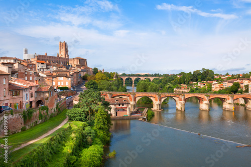 Photo View of the Albi, France