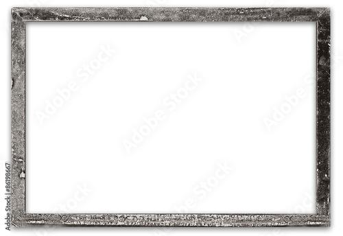 Antiker, alter Silberrahmen für ihr Bild