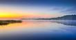Finnish archipelago and sunrise