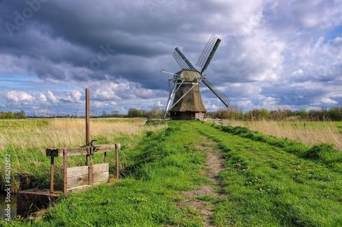 Poster Molens Wedelfelder Muehle - windmill Wedelfeld 01