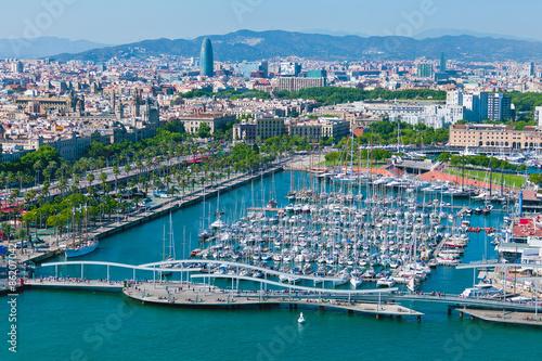 Papiers peints Barcelona Barcelona port