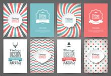 Set Of Brochures In Vintage St...