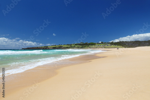 Foto  Short Point beach in New South Wales, Australia