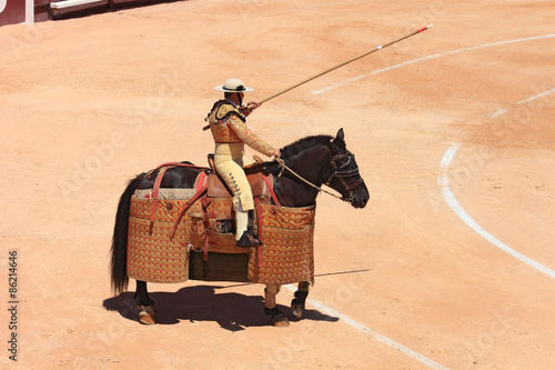 Photo Stands Bullfighting Picador