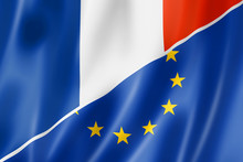 France And Europe Flag