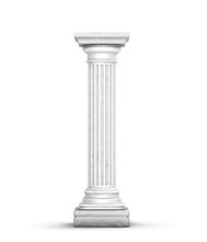 Ancient Column (with Little Cr...