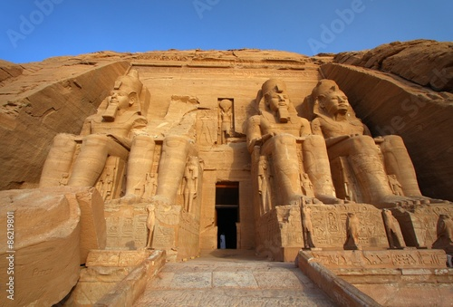 Fototapeta  The temple of Abu Simbel in Egypt