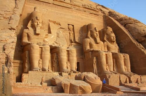 Fotografia, Obraz The temple of Abu Simbel in Egypt