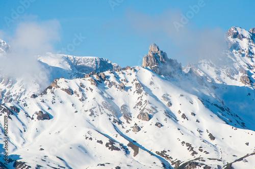 mountain range Alpe Di Suisi Dolomite italy #86221019