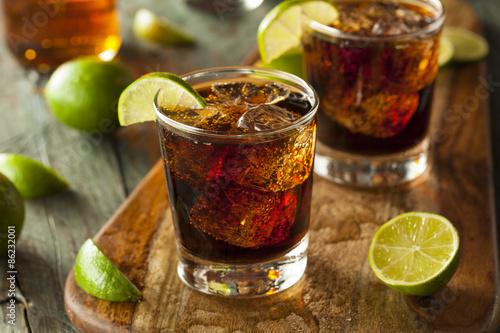 Rum and Cola Cuba Libre Canvas Print