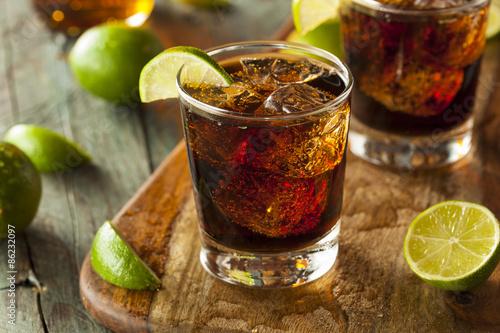 Photo Rum and Cola Cuba Libre
