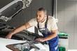 Car, Mechanic, Auto Repair Shop.