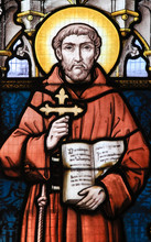 Stained Glass - Saint Francis ...