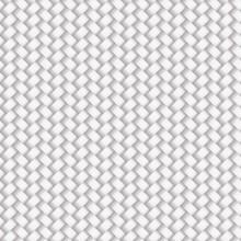 White Seamless Wicker Pattern