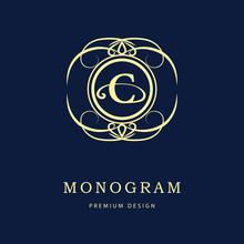 Monogram Design Elements, Grac...