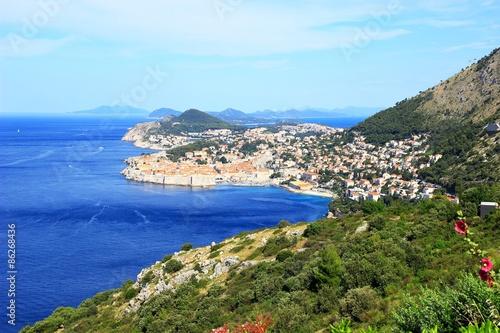 In de dag Canarische Eilanden Old town Dubrovnik in Croatia