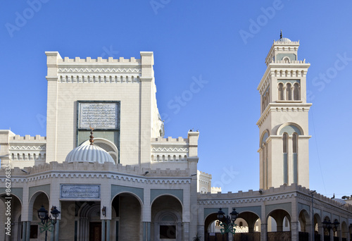 Libya,Tripoli,the Nasser mosque in the Colonial district