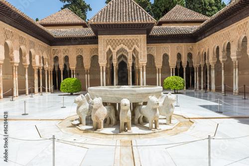 Canvastavla Alhambra,Granada, Spain