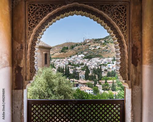 Alhambra,Granada, Spain Canvas Print
