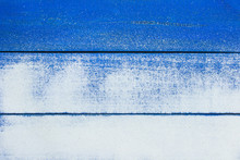 Blank Beach Sign With Sandy Texture