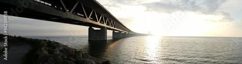 Keuken foto achterwand Bruggen Sunset bridge