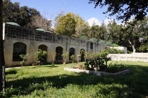 Obraz na plátně jardins du Palais Saint-Antoine
