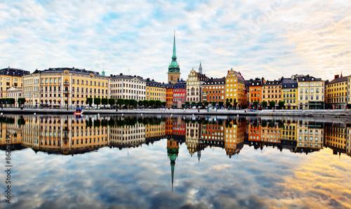 Fotografiet stockholm city