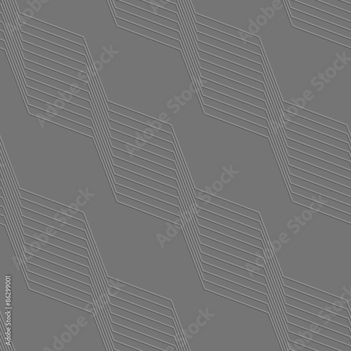 Fotografering  Embossed geometrical pattern with diagonal lines