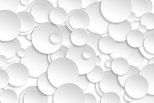 Abstract Paper Circle Design S...