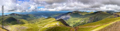 Fototapeta Snowdonia