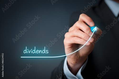 Fotografía  Dividends increase