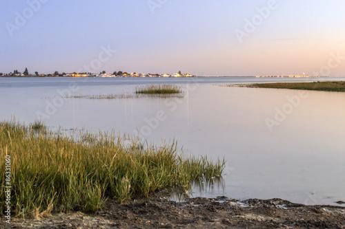 Fotografía  Algarve Cavacos beach seascape at Ria Formosa wetlands