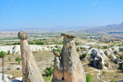 Wall Murals Northern Europe Three sisters of Cappadocia