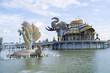 Temple of gods spiritual powers.