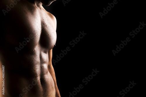 Fototapeta  Sexy muž tělo
