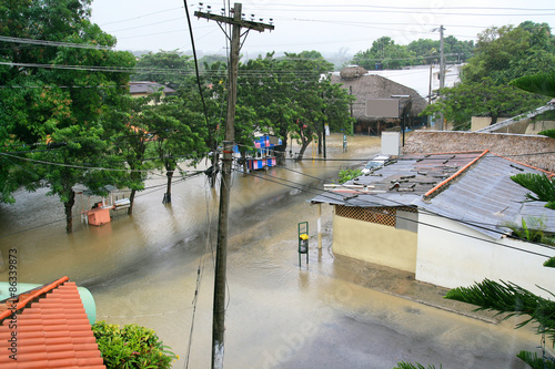 Carta da parati Flood
