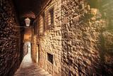 Fototapeta Fototapety na drzwi - Girona jewish backstreet