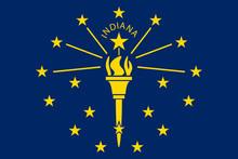 Indiana Flag.