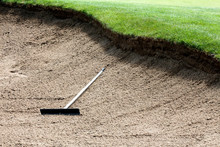 Rake In The Middle Of A Deep S...