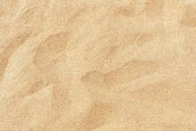 Fine Beach Sand In The Summer ...