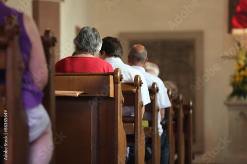 Blick in die Kirche